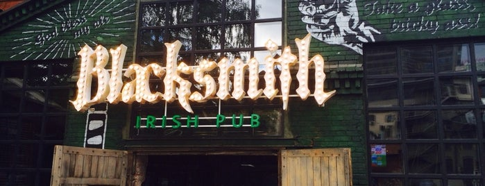 Blacksmith is one of Ireland pubs.