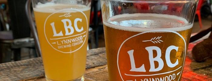 Lynnwood Brewing Concern is one of RaLEIGH.