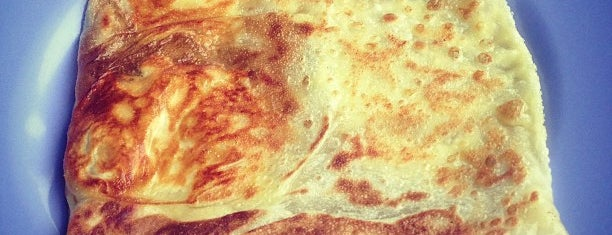 Mr and Mrs Mohgan's Super Crispy Roti Prata is one of Singapore.