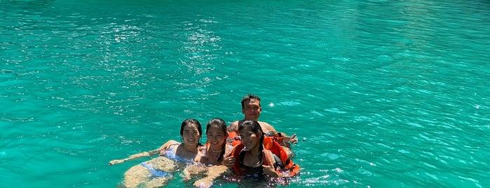 Phi Leh Lagoon is one of 🇹🇭🤙 Thaight.