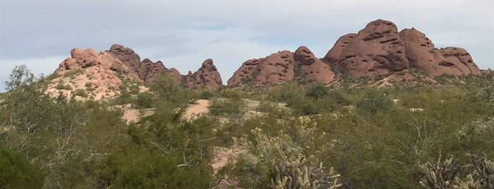 Papago Park- West Park Trailhead is one of Outdoors.