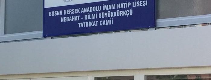 Bosna Hersek Anadolu İmam Hatip Lisesi Tatbikat Camii is one of Konya Selçuklu 2 Mescit ve Camileri.
