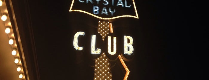 Crystal Bay Club Casino is one of Tahoe.