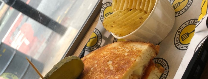 Northern Soul • Grilled Cheese is one of Tempat yang Disukai Louise.
