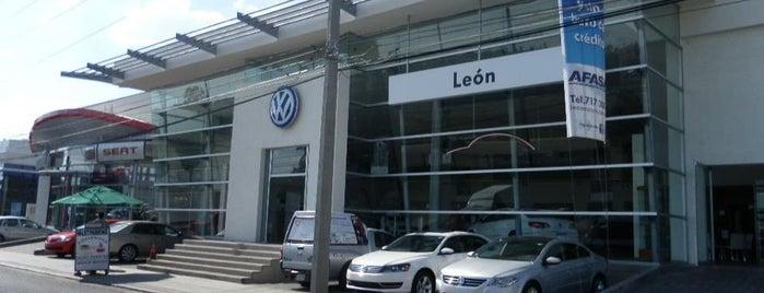 Volkswagen León Motors is one of Tempat yang Disukai Sofi.
