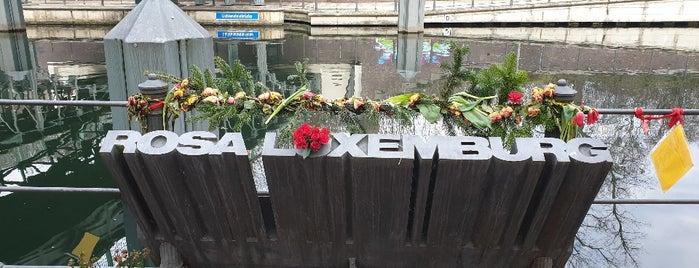 Rosa-Luxemburg-Denkmal is one of สถานที่ที่บันทึกไว้ของ Gonçalo.