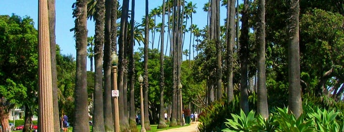 Palisades Park is one of LA.