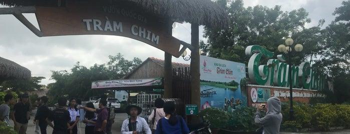 Vườn Quốc Gia Tràm Chim (Tram Chim National Park) is one of du lịch - lịch sử.