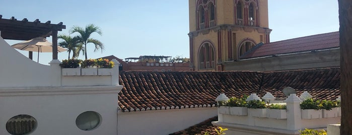 Casa San Agustin is one of Cartagena, Columbia.