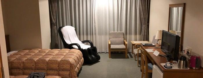 ホテル ウェルネス因幡路 is one of สถานที่ที่ Shigeo ถูกใจ.