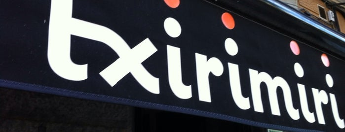 Txirimiri is one of Madrid not faraway.