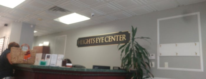 Heights Eye Center is one of Lugares favoritos de lino.
