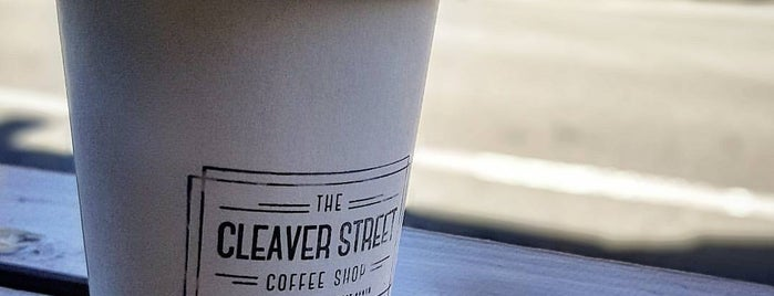 The Cleaver Street Coffee Shop is one of + Perth 01.