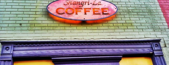 Shangri-La Coffee is one of denver nothing.