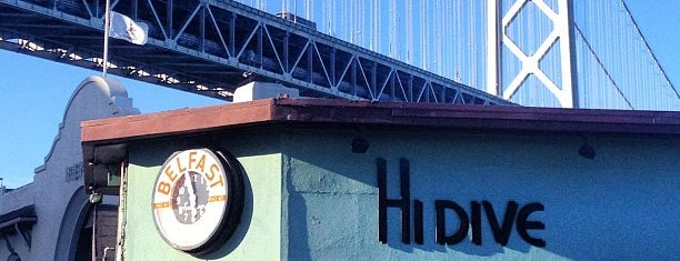 Hi Dive is one of The 16 Coolest Outdoor And Patio Bars In SF.