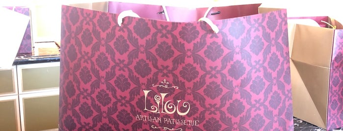 Lilou Artisan Patisserie is one of Locais salvos de Queen.