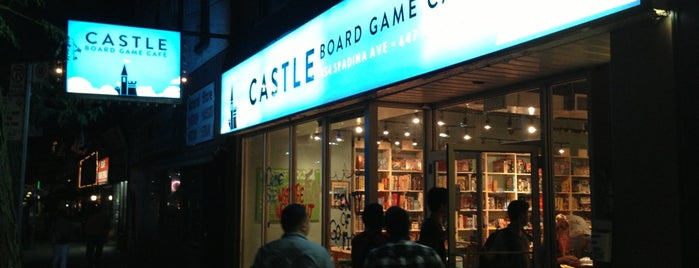 Castle Board Game Café is one of Food & Drink.