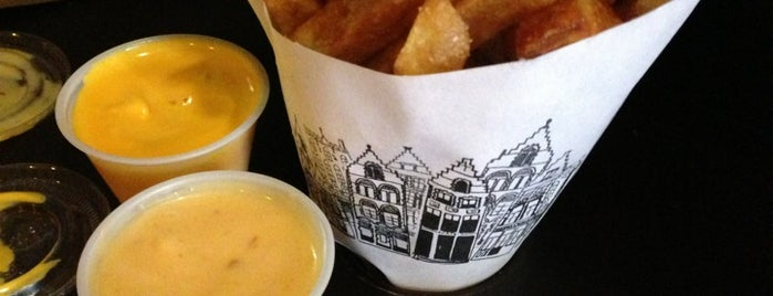 Pommes Frites is one of NY.
