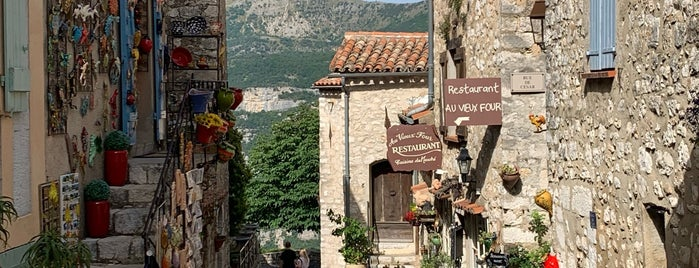 Gourdon is one of COTE D'AZUR AND LIGURIA THINGS TO DO.