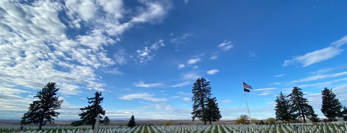 Little Bighorn Battlefield National Monument is one of Historic America.