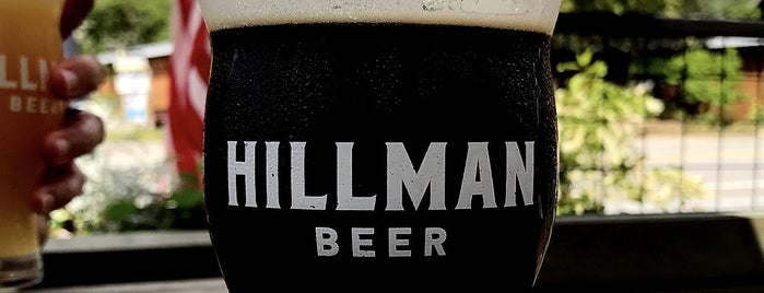 Hillman Beer is one of Asheville.