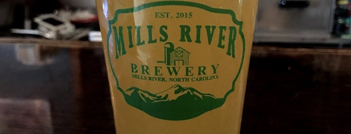 Mills River Brewery is one of NC Craft Breweries.