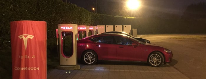Tesla Supercharger Lille is one of Superchargeurs Tesla en France.
