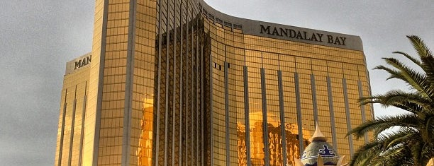 Mandalay Bay Resort and Casino is one of Lieux sauvegardés par Andrew.