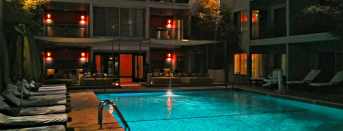 Sunset Marquis is one of Mid Wilshire Westwood.
