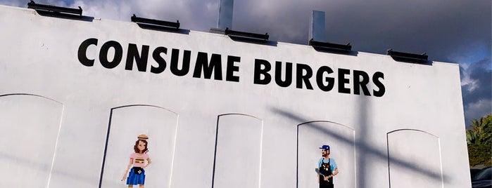 Burgers Never Say Die is one of Khaled'in Kaydettiği Mekanlar.