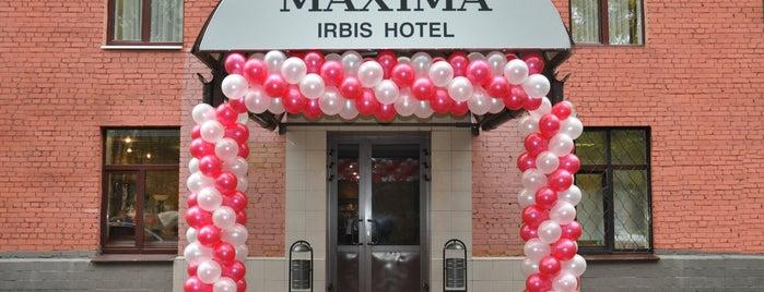 Maxima Irbis hotel / Максима Ирбис отель is one of «Коммерсантъ» в заведениях Москвы.