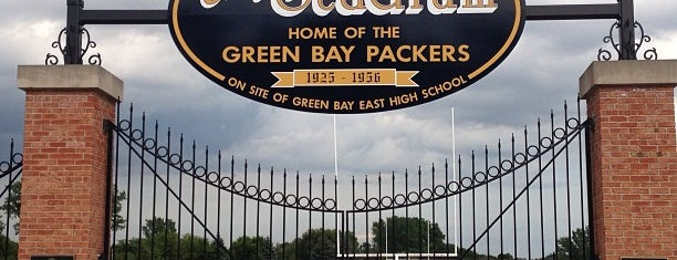 City Stadium is one of Packers Heritage Trail (City Walk).