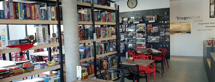 Conexio Games Cafe is one of Board Game Cafes.
