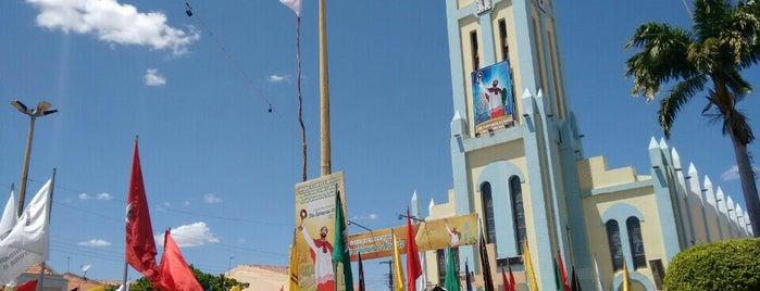Igreja de Sao Raimundo Nonato-Varzea Alegre is one of Tempat yang Disukai Raquel.