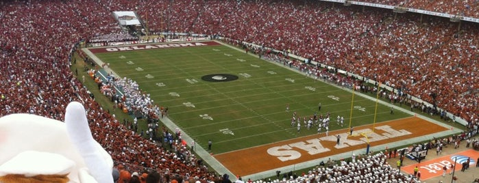 Cotton Bowl is one of sports arenas and stadiums.
