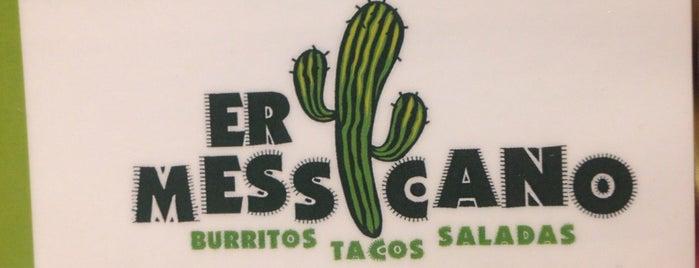 Er Messicano - Burritos, Tacos e Saladas is one of Guilherme 님이 좋아한 장소.
