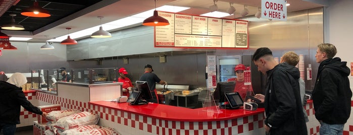 Five Guys is one of Rotterdam.