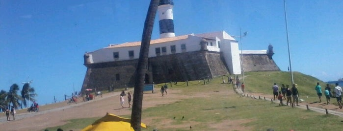 Farol da Barra /  Forte de Santo Antônio da Barra is one of Nordeste.