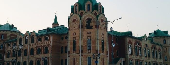 Воскресенская набережная is one of Lugares favoritos de Alexander.