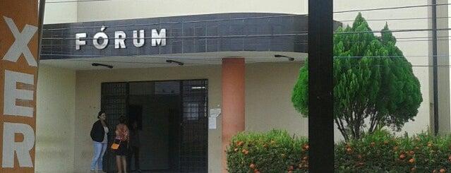 Fórum de Bacabal is one of *****Beta Clube*****.