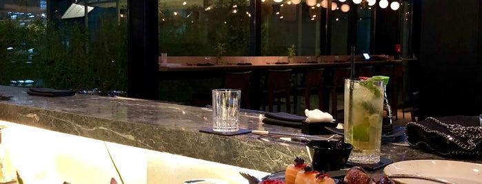 Ginger Sushi Bar & Lounge is one of Gespeicherte Orte von Vlad.