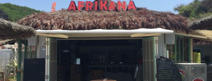 Afrikana is one of Tempat yang Disimpan Soly.