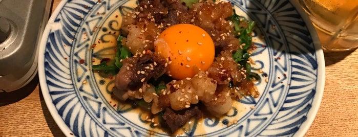 黒毛和牛もつ鍋 懐炉 is one of Places to go.