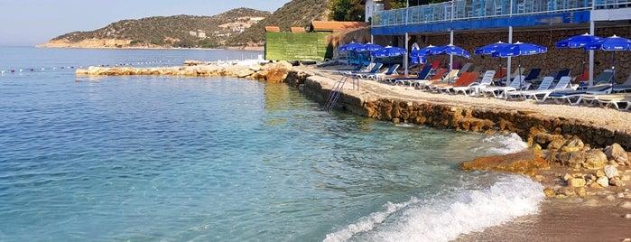 Kaş Olympos Mocamp is one of Çadır Kamp Alanı ve Plajlar.