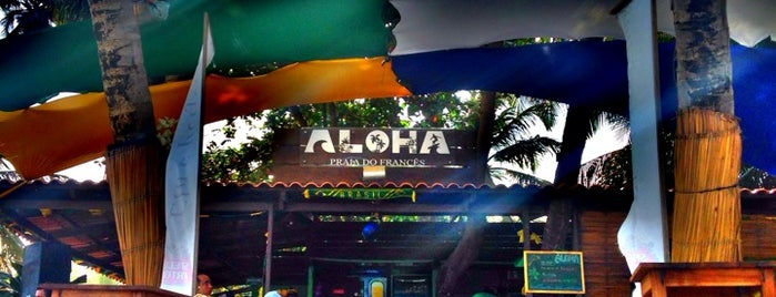 Aloha Paradise - Praia do Francês is one of Orte, die MZ🌸 gefallen.