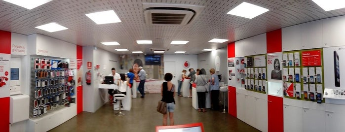 Vodafone is one of Calafell.