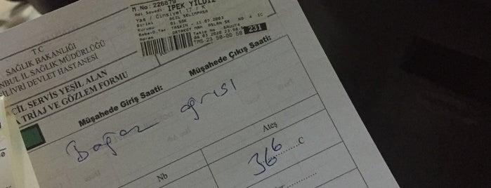 Selimpaşa Devlet Hastanesi Acil Kliniği is one of Elif'in Beğendiği Mekanlar.