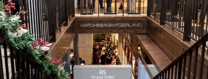 Watches of Switzerland is one of NYC SUMMER 🥂🍹🦋.