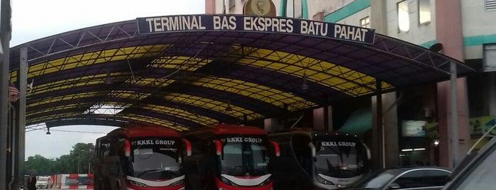 Terminal Bas Ekspres Batu Pahat is one of Go Outdoor, MY #6.