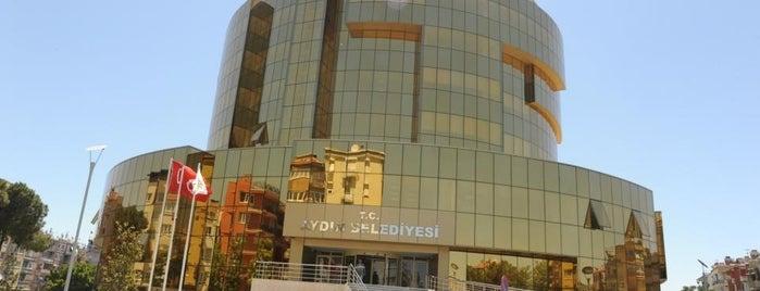Aydın Büyükşehir Belediyesi is one of Gezdim gördüm.